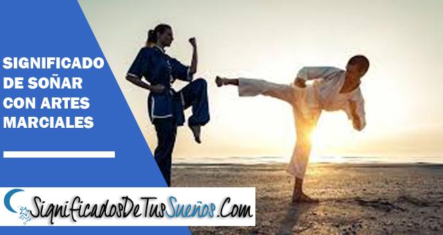 Significado de soñar con artes marciales