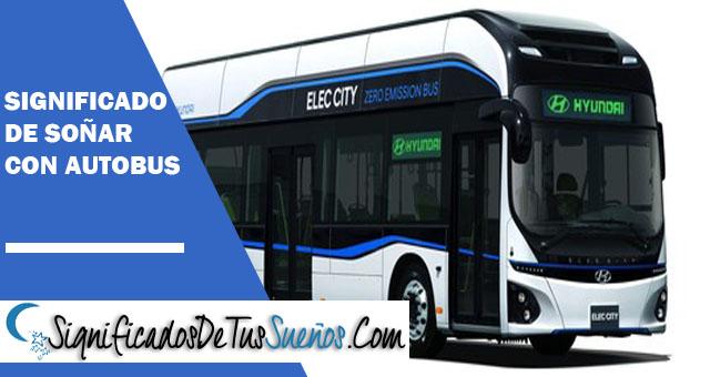 Significado de soñar con un autobús