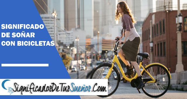 ¿Qué significa soñar con bicicletas?