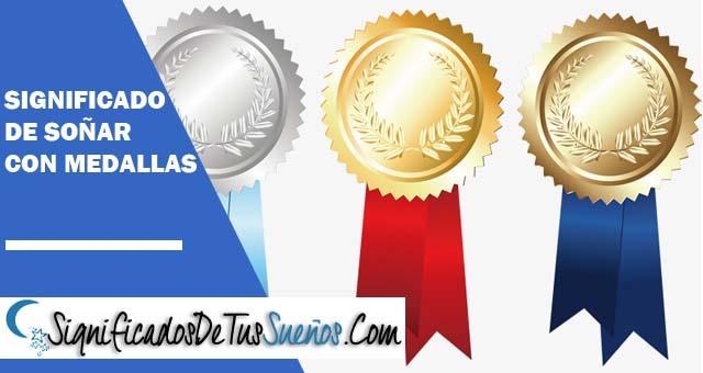 Significado de soñar con medallas