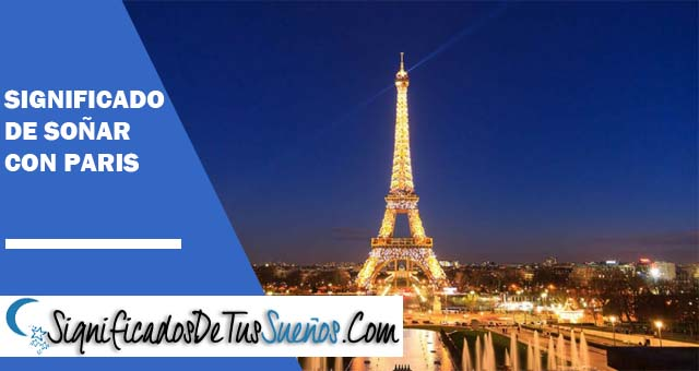Significado de soñar con París