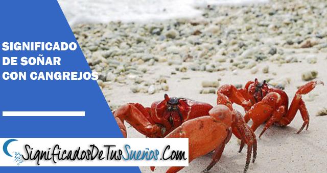 Significado de soñar con cangrejos