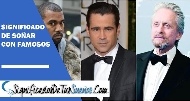 ¿Qué significa soñar con famosos?