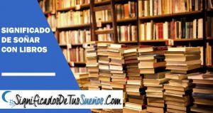 Significado de soñar con libros